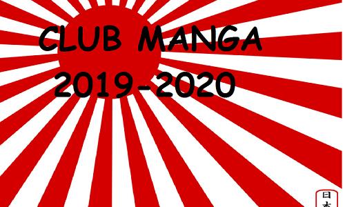 Le Club Manga revient en novembre !