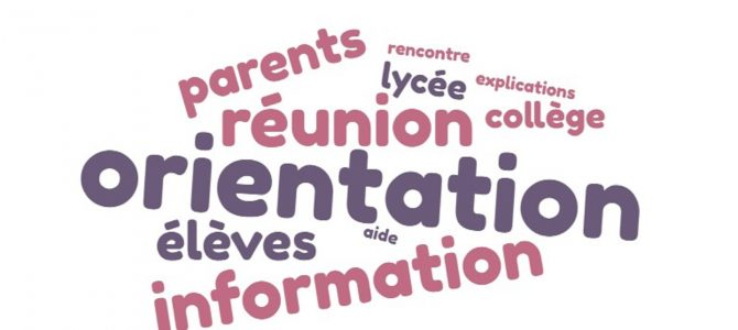 Retour sur la réunion d'information sur l'orientation post 3ème du 27 février 2020 (au collège Maupassant)
