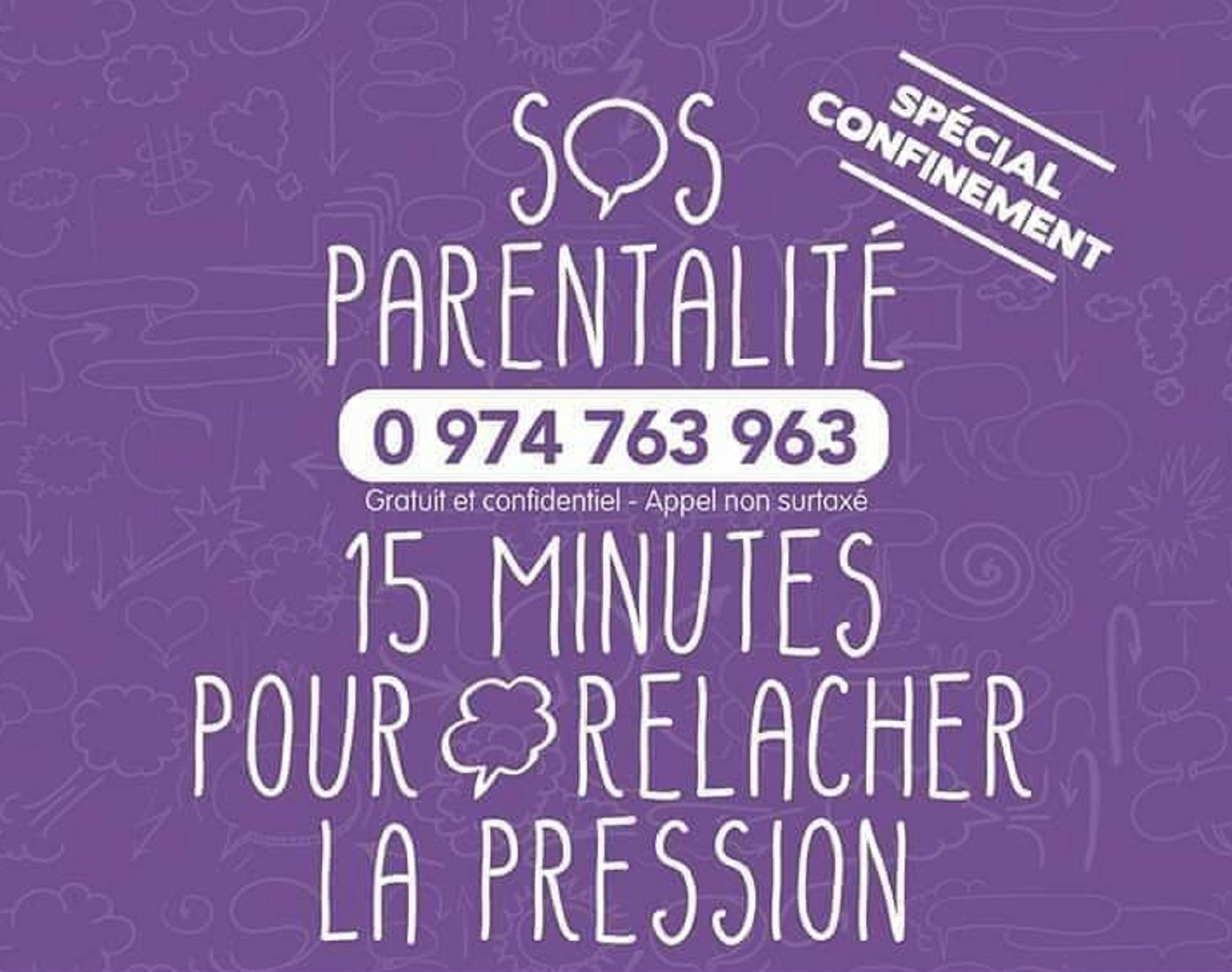 SOS Parentalité. Nouveaux horaires